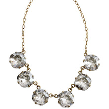 "Catherine Popesco 14k Gold Plated Crystal Round Necklace, 16"" + 2"" Extender 1257G Shade"