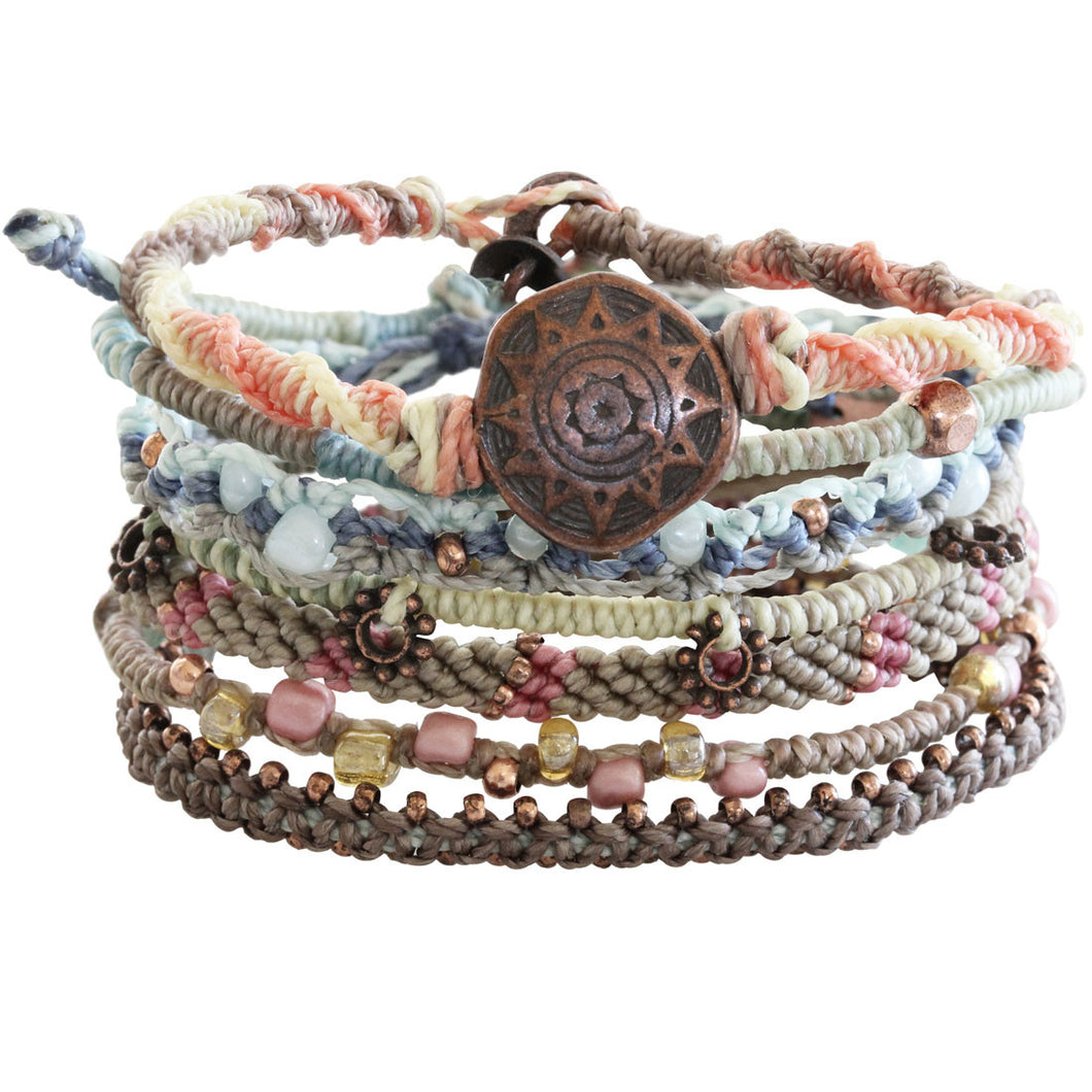 Wakami Earth Bracelet, 6.5-7