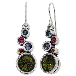 Patricia Locke Encore Sterling Silver Plated Earrings, Fling EF0988S