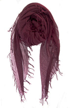 Chan Luu Cashmere and Silk Scarf Wrap - Fig BRH-SC-140