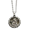 "Mariana Guardian Angel Swarovski Crystal Pendant Necklace, 19"" Crystal AB 5212 001AB"