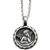 "Mariana Guardian Angel Swarovski Crystal Pendant Necklace, 19"" Tranquility 5212 207"