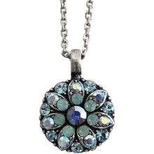 "Mariana Guardian Angel Swarovski Crystal Pendant Necklace, 16"" Pacific Blue 5212 26770"