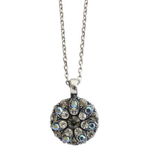 Mariana Guardian Angel Swarovski Crystal Pendant Necklace, Ice Gray Iridescent 5212 512