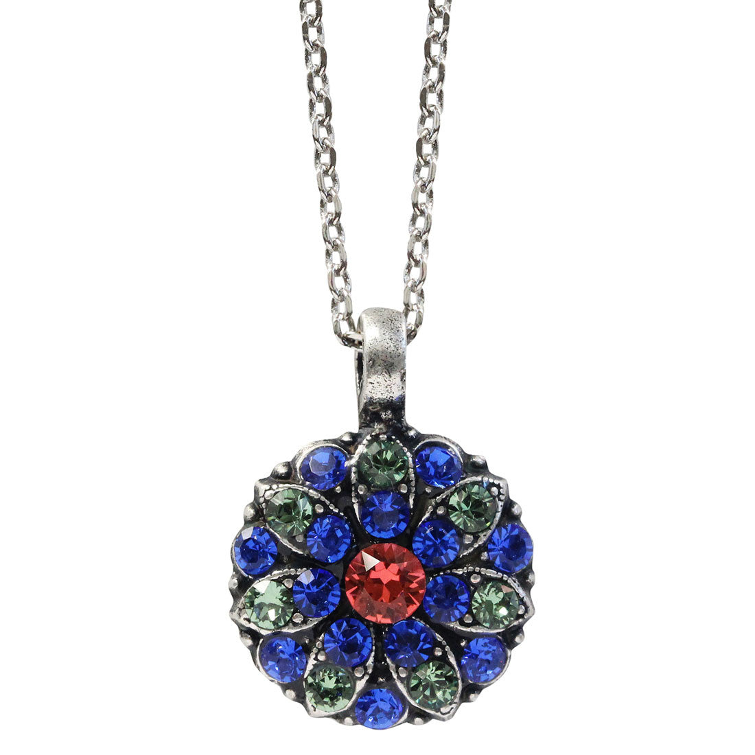 "Mariana Guardian Angel Swarovski Crystal Pendant Necklace, 16"" Oasis 5212 432"