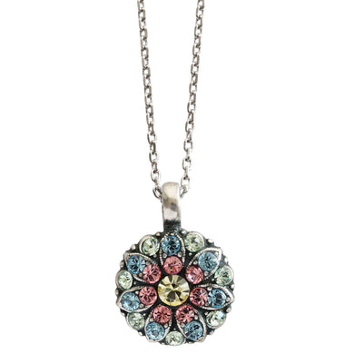 Mariana Guardian Angel Swarovski Crystal Pendant Necklace, Spring Flowers 5212 2141
