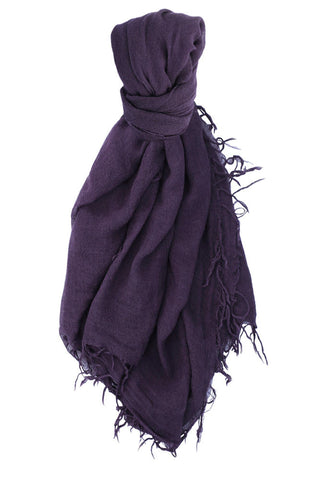 Chan Luu Cashmere and Silk Scarf Wrap - Mysterioso BRH-SC-140