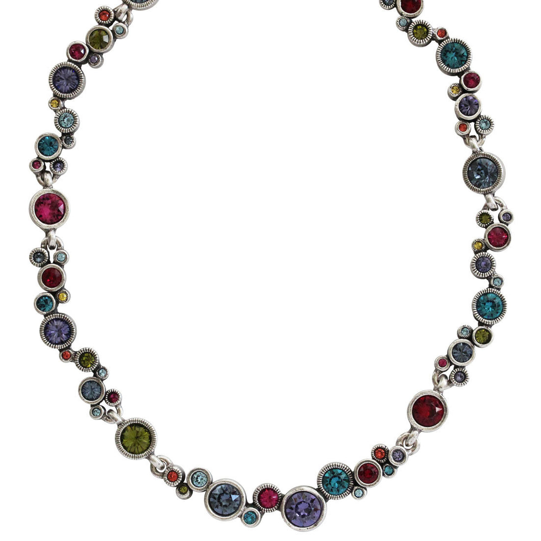 Patricia Locke Ovation Sterling Silver Plated Necklace, 17