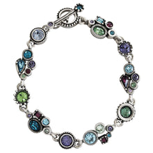 "Patricia Locke ""Petite"" Sterling Silver Plated Bracelet, 7.25"" Waterlily BR0353S"