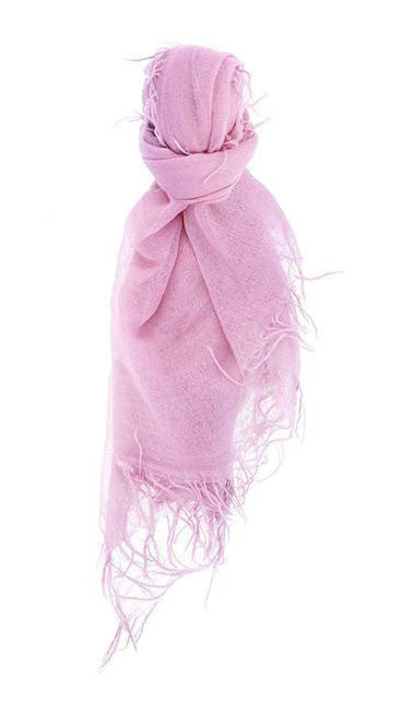 Chan Luu Cashmere and Silk Scarf Wrap - Pink Lavender BRH-SC-140