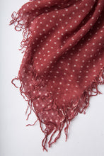 Chan Luu Cashmere and Silk Scarf Wrap - Polka Dot Red Pear/Eggshell BRH-SC-301