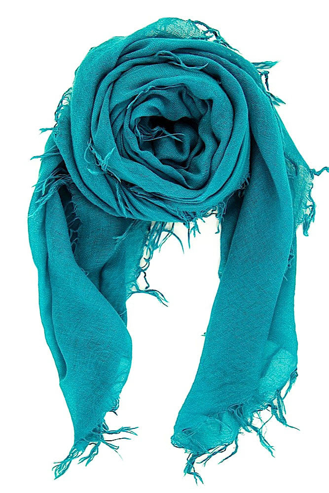 Chan Luu Cashmere and Silk Scarf Wrap - Royal Blue BRH-SC-140