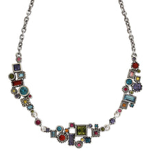 "Patricia Locke ""Skyline"" Sterling Silver Plated Necklace, 18.5"" + 1.5"" Extender Fling NK0599S"