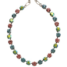"Mariana Silver Plated Classic Shapes Swarovski Crystal Necklace, 17.5"" Summer Fun 3252 3711"