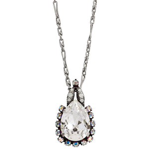 "Mariana ""On A Clear Day"" Silver Plated Teardrop Pendant Swarovski Crystal Necklace, 26.5"" 5098/2 001"