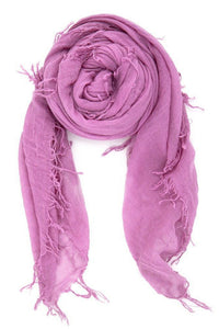 Chan Luu Cashmere and Silk Scarf Wrap - Violet BRH-SC-140