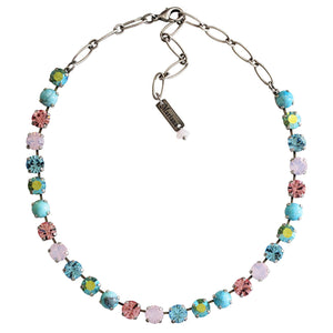 "Mariana ""Summer Fun"" Silver Plated Classic Shapes Swarovski Crystal Necklace, 3252 M75-2"