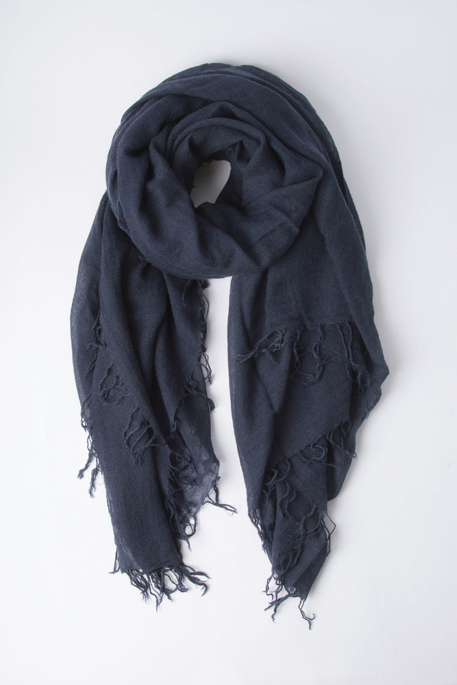 Chan Luu Cashmere and Silk Scarf Wrap - Total Eclipse BRH-SC-140
