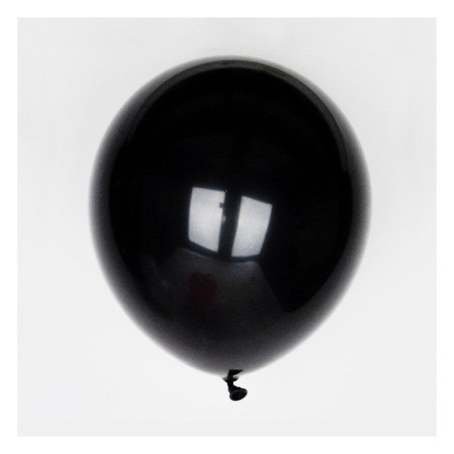 Black Party Balloons - The Sweet Hostess