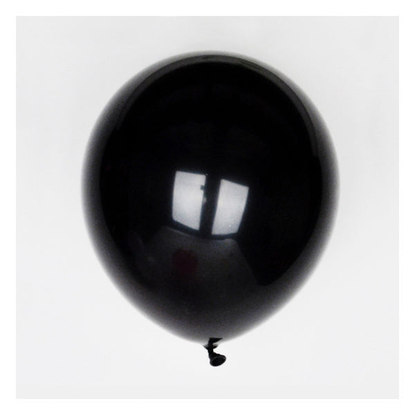 Black Party Balloons