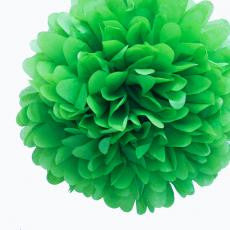 Medium Green Paper Pom Pom - The Sweet Hostess