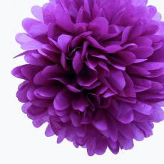 15% OFF - Large Lavender Paper Pom Pom - The Sweet Hostess