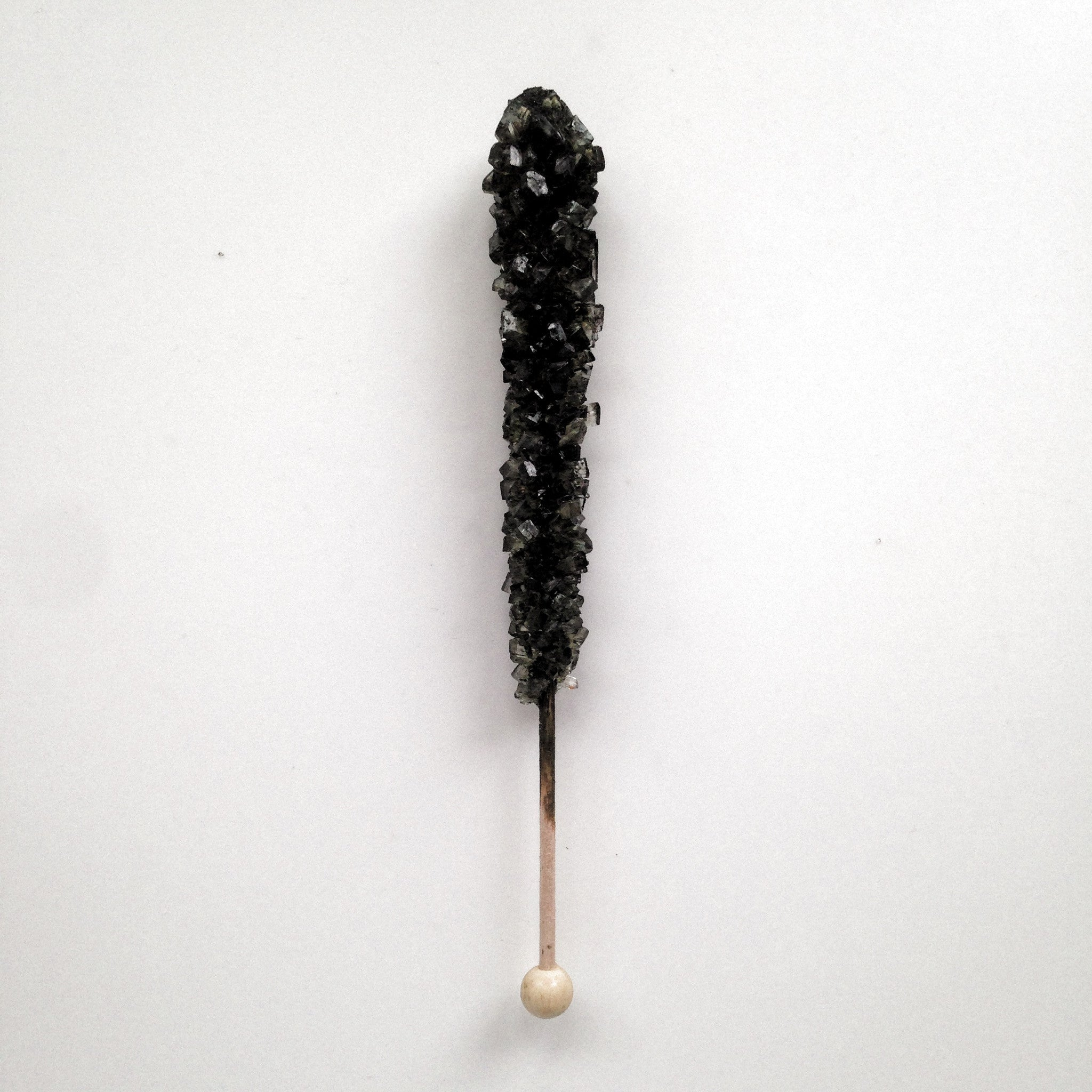 Black Cherry Sugar Swizzle Stick - The Sweet Hostess  - 1