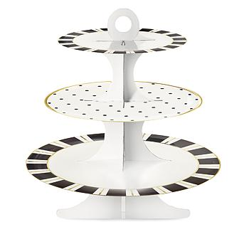 Large Paper 3 Tier Cake Stand - Miss Etoile