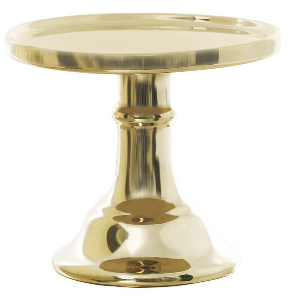 Small Gold Cake Stand - Miss Etoile