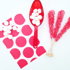 Red Candy Buffet Scoop - The Sweet Hostess  - 2
