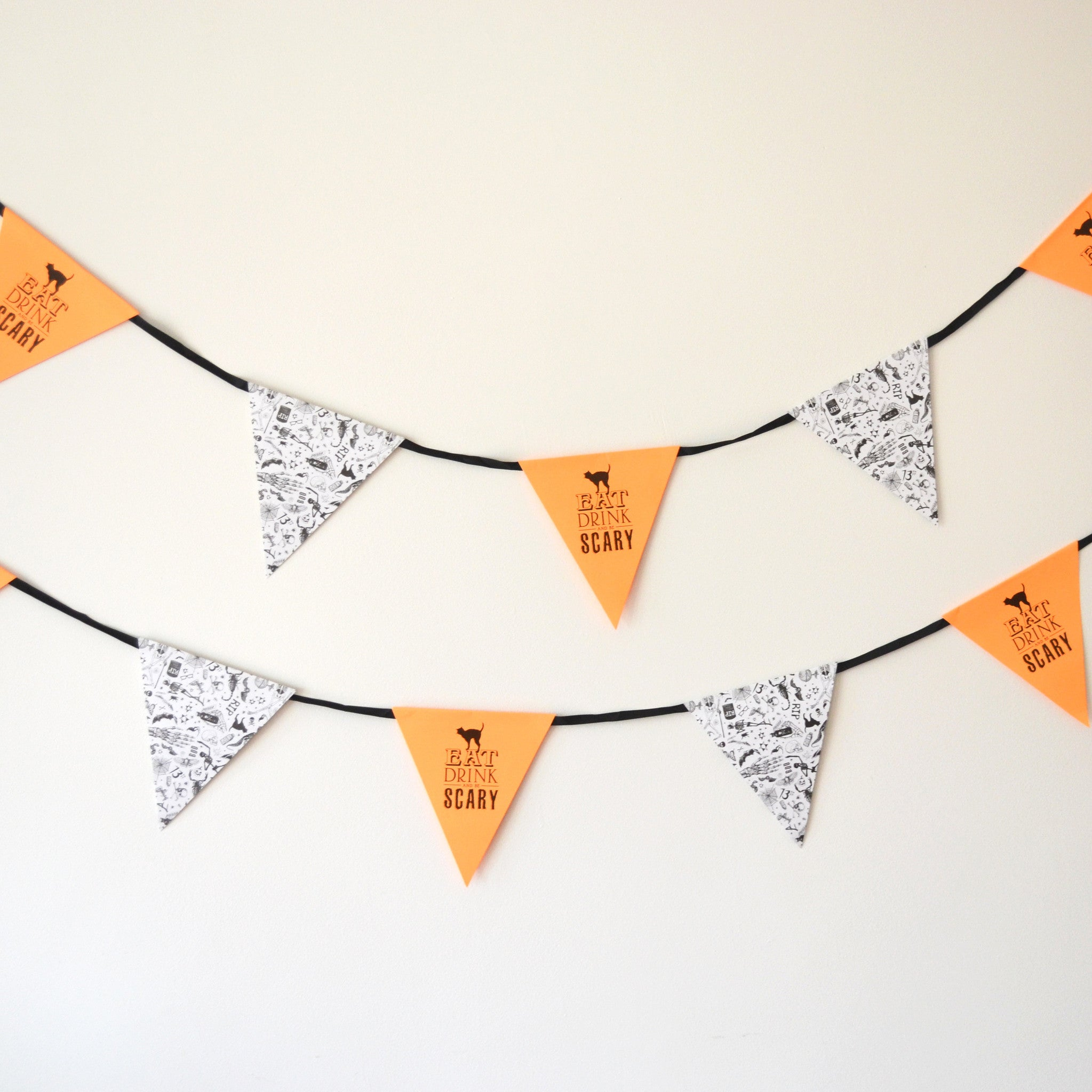 SALE - Halloween Bunting - The Sweet Hostess  - 1