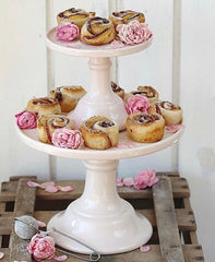 Large Rose Pink Cake Stand - Miss Etoile