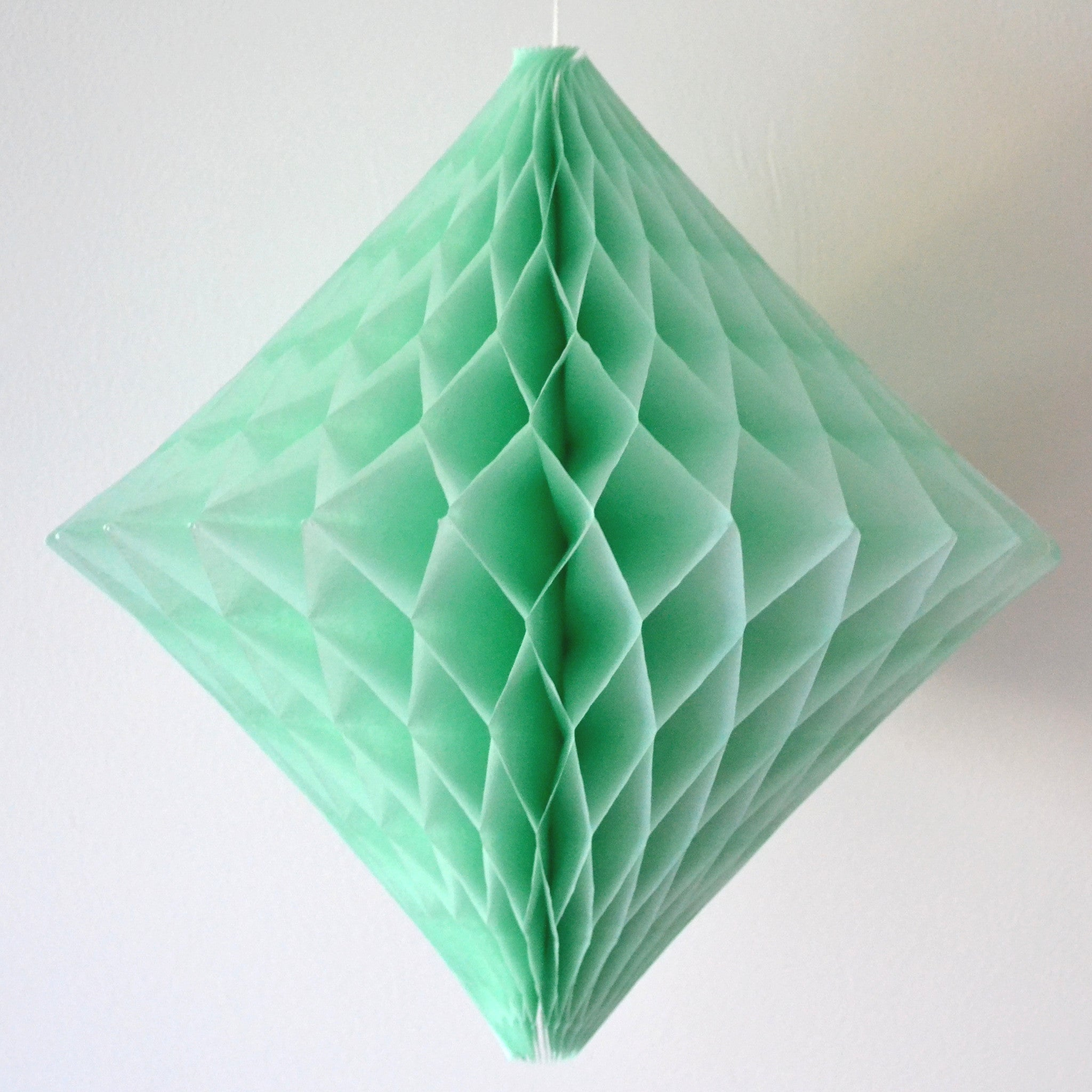 Mint Diamond Honeycomb Decoration - The Sweet Hostess