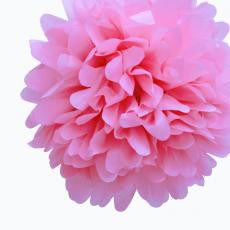 Large Pink Paper Pom Pom - The Sweet Hostess
