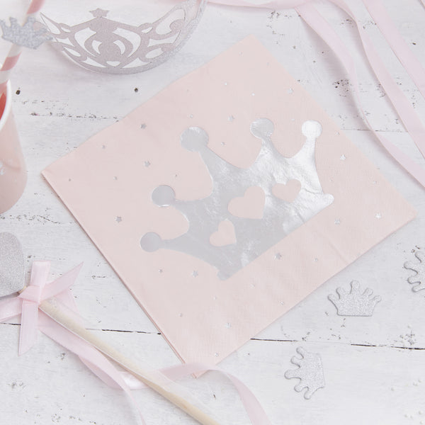 Princess Paper Napkins X 16