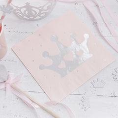 .Princess Paper Napkins - The Sweet Hostess