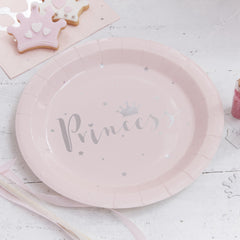 .Princess Paper Plates - The Sweet Hostess