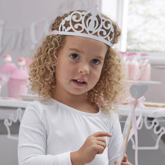 .Silver Glitter Tiaras - The Sweet Hostess  - 2