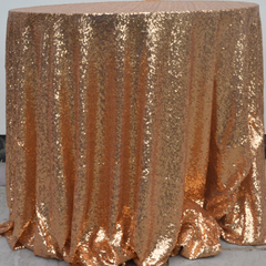 3ft round antique gold table cloth - bespoke