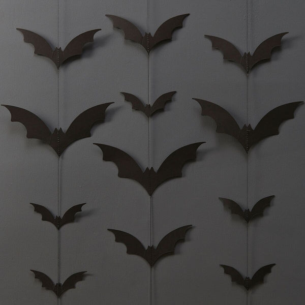 Halloween Bat Backdrop