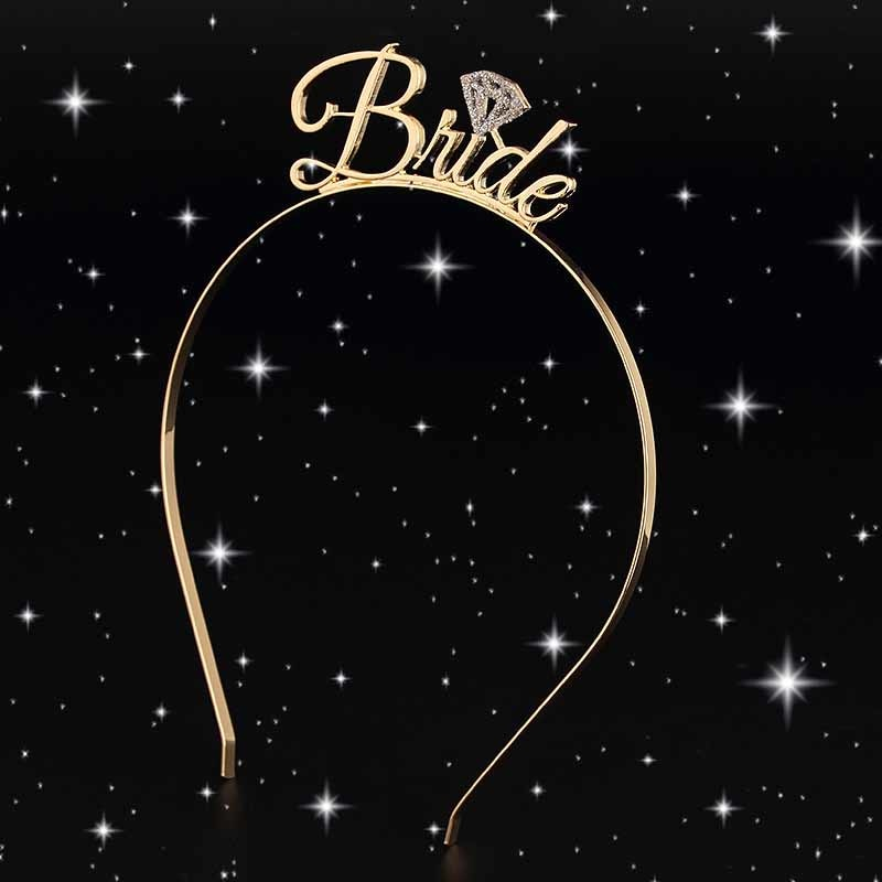 Bride Gold Headband