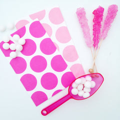 Pink Candy Buffet Scoop - The Sweet Hostess  - 2