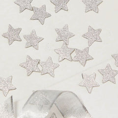 Silver Star Glitter Confetti - The Sweet Hostess  - 2