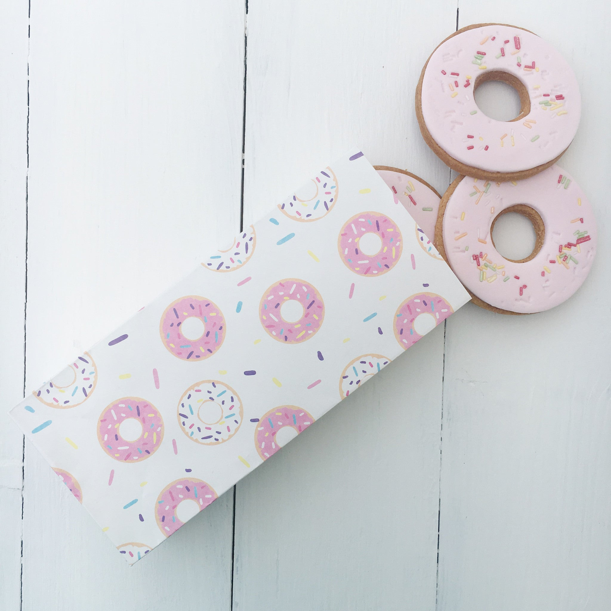 Doughnut Paper Treat Bag - The Sweet Hostess  - 1
