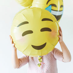 Emoji Blushing Foil Balloon - The Sweet Hostess