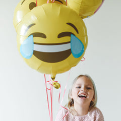 Emoji Crying with Laughter Foil Balloon - The Sweet Hostess  - 1