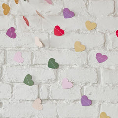 Colourful Heart Garland - The Sweet Hostess  - 2