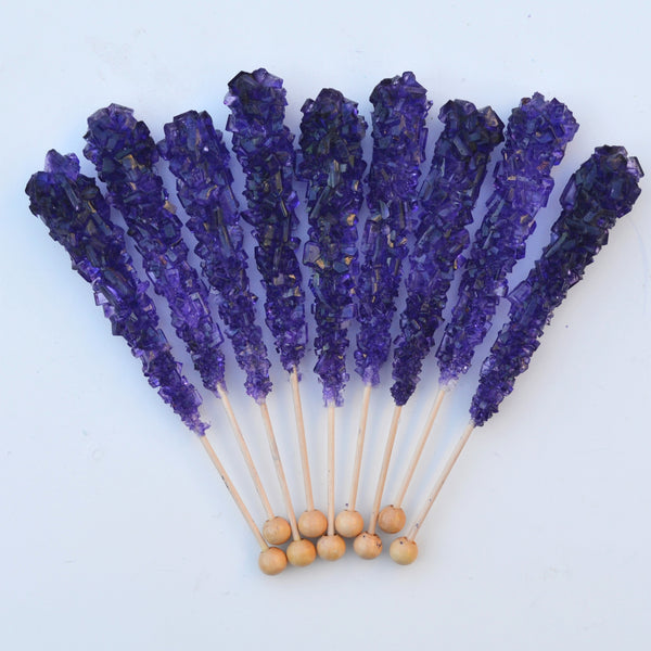 Grape Sugar Swizzle Sticks 10 Pack