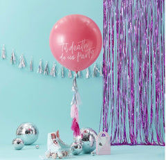Giant Pink 'Till Death Do Us Party' Balloon Kit