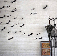 Halloween Small Bat Wall Decoration